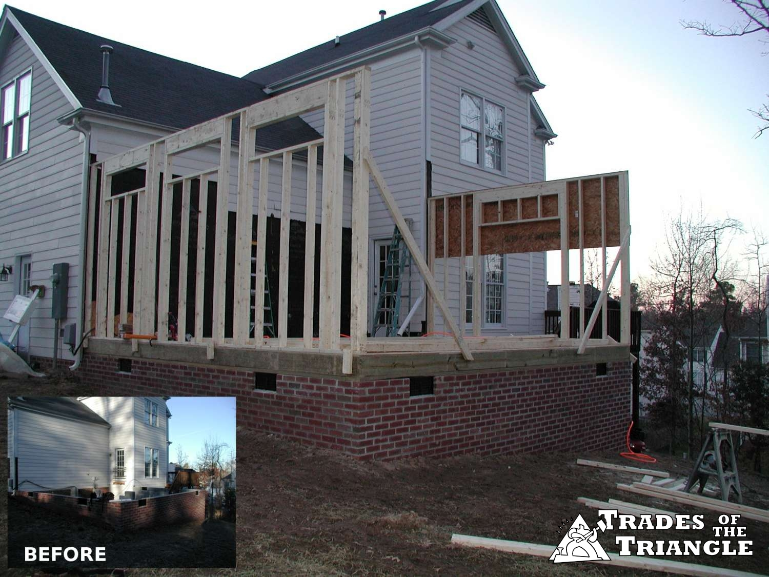 Room Addition And Basement Remodeling, Chapel Hill, Durham