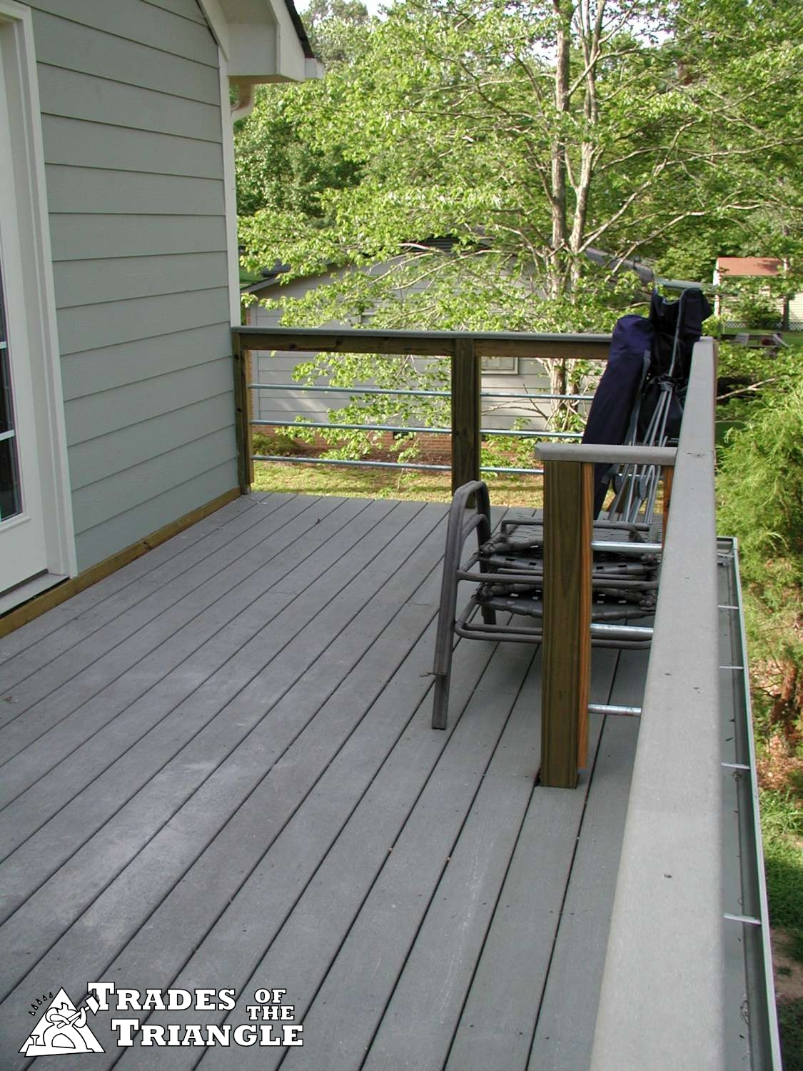 ... Floating Rooftop Deck And Balcony   Durham ...